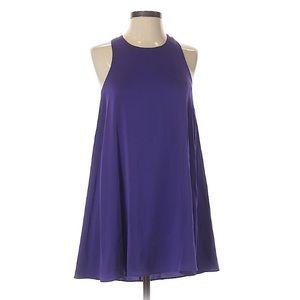 NWOT Alice + Olivia Purple Silk Slip Dress